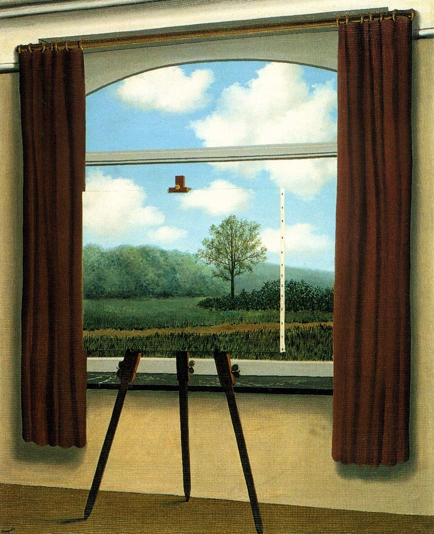 magritte-human-condition