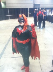 Batwoman Cosplayer at C2E2 2013