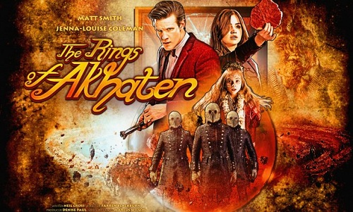 Promotional poster for Doctor Who, The Rings of Akhaten