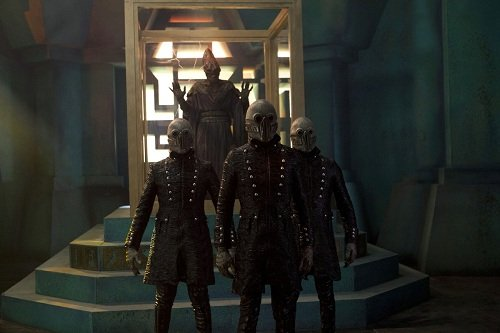 The Mummy and his minions from Doctor Who, The Rings of Akhaten