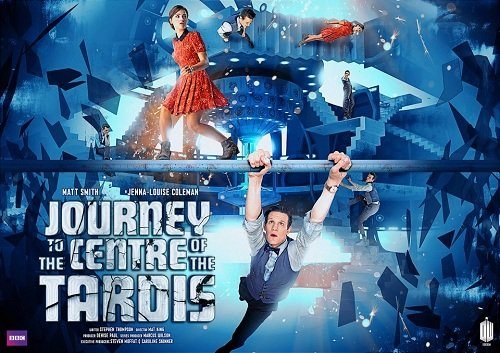 "Promo poster for Doctor Who, ""Journey to the Centre of the TARDIS"", S07E11"