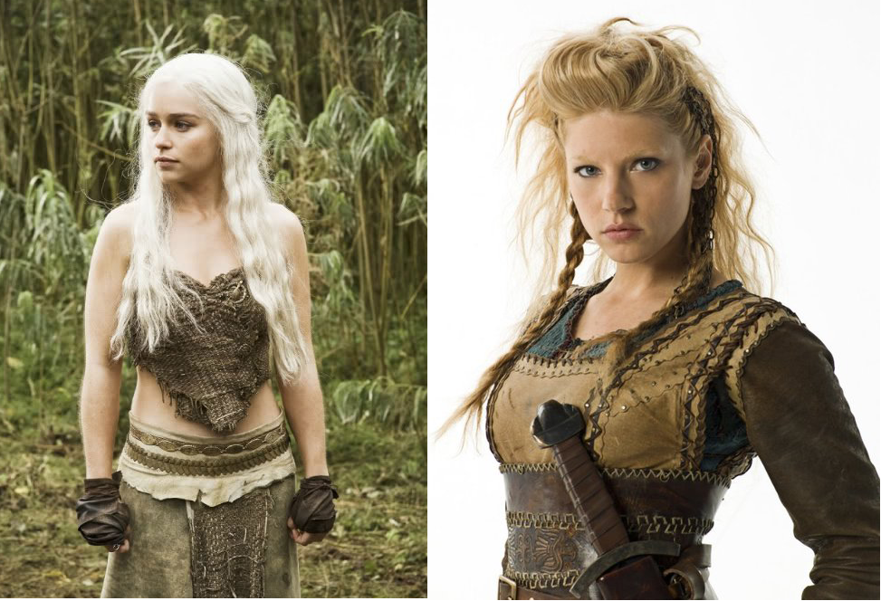 Daenerys versus lagertha