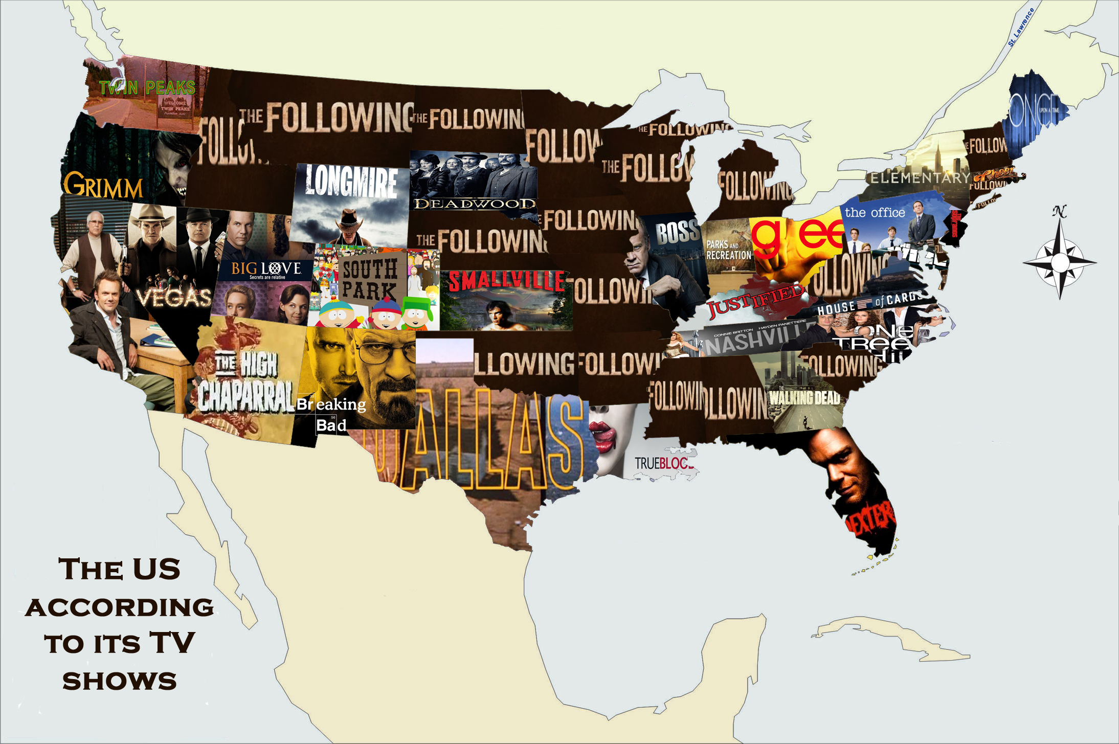 America according to its TV shows
