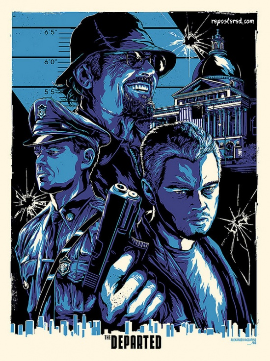 The Departed Poster Art