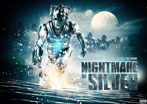 Doctor Who promo poster, Nightmare in Silver, S07E13