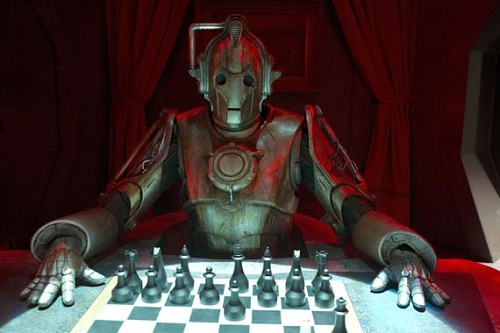"Doctor Who promo pic, ""Nightmare in Silver"", S07E13"