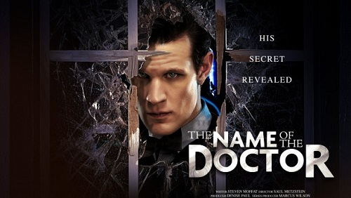 Doctor Who promo poster, The Name of the Doctor