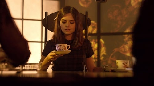 "Jenna Louise Coleman in Doctor Who, ""The Name of the Doctor"""