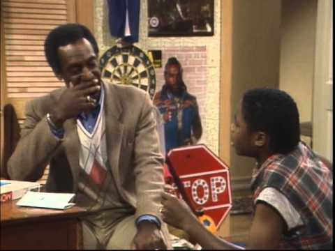 Cliff teaches Theo about economics, The Cosby Show pilot
