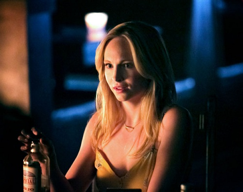 "Candice Accola on The Vampire Diaries, ""The Walking Dead"", S04E22"