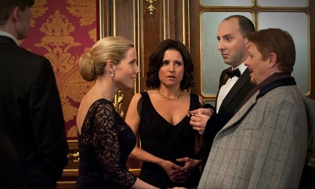 Sally Phillips, Julia Louis-Dreyfus, Tony Hale, Dave Foley