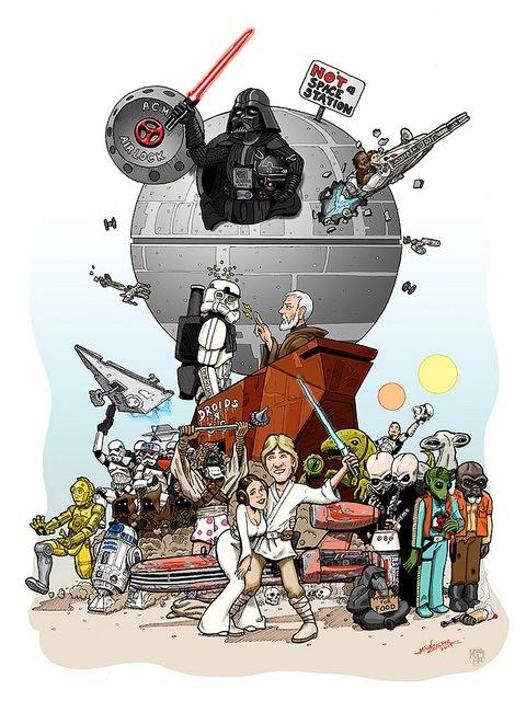 Star Wars 2014 poster
