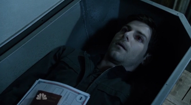 Grimm - Nick in coffin