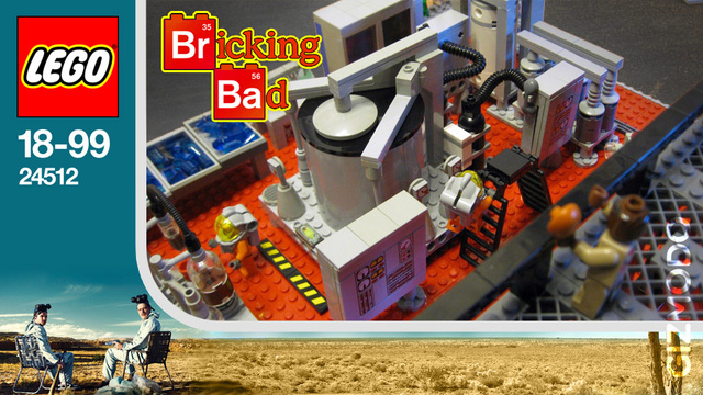 Breaking Bad Lego