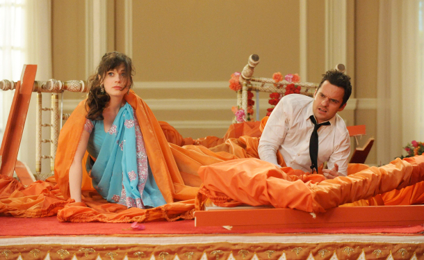 """New Girl, Ep. 2.25, """"Elaine's Big Day"""" ends the season with a poorly executed cliffhanger"""