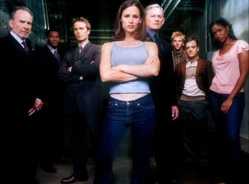 Cast photo, season 1 of Alias