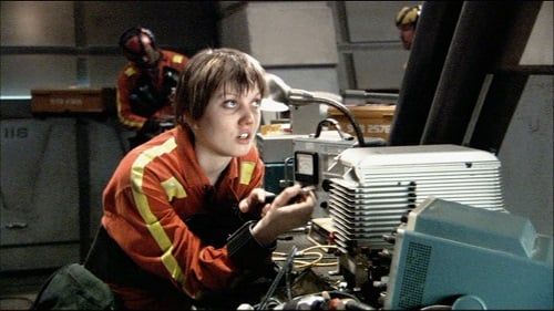 "Nicki Clyne as Cally in ""33"", the pilot of Battlestar Galactica"
