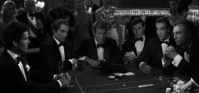 All James Bonds mock up picture