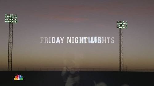 Friday Night Lights title card