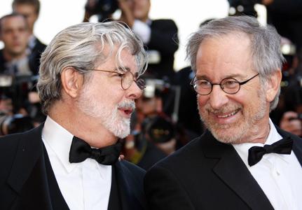 George Lucas Steven Spielberg