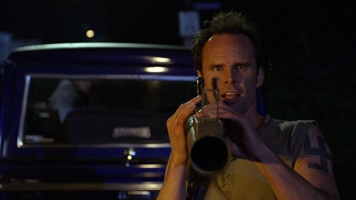 Walton Goggins in the Justified pilot, Fire in the Hole