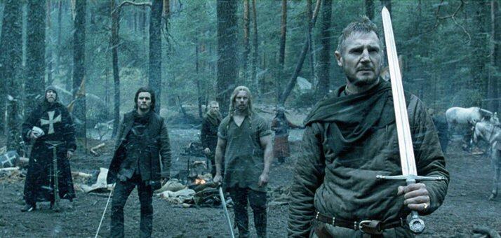 Kingdom of Heaven (David Thewlis, Orlando Bloom, Jouko Ahola & Liam Neeson)