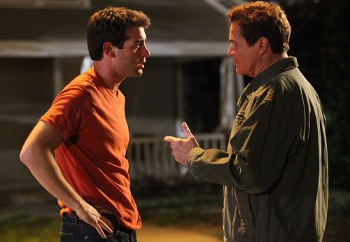 James Wolk and David Keith in the pilot for Lone Star