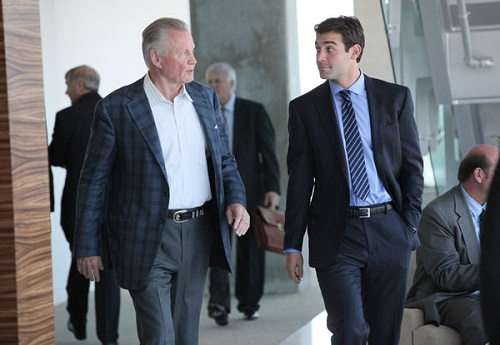 Jon Voight and James Wolk in the pilot for Lone Star