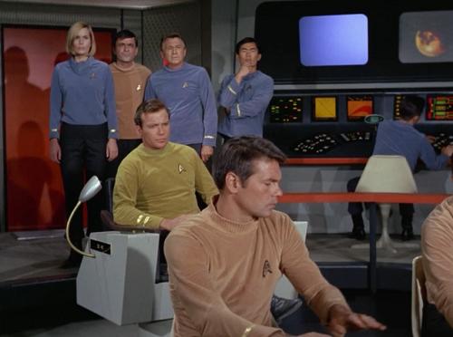 Bridge crew of Star Trek, Where No Man Has Gone Before