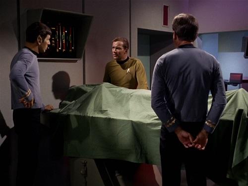 Screencap from Star Trek, The Man Trap
