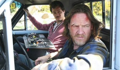 Donal Logue and Micheal Raymond-James in the Terriers pilot