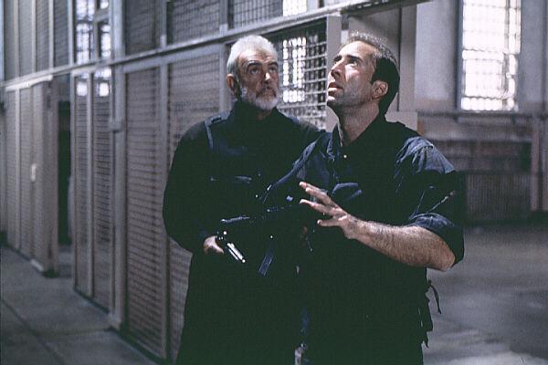 The Rock (Sean Connery & Nicolas Cage)