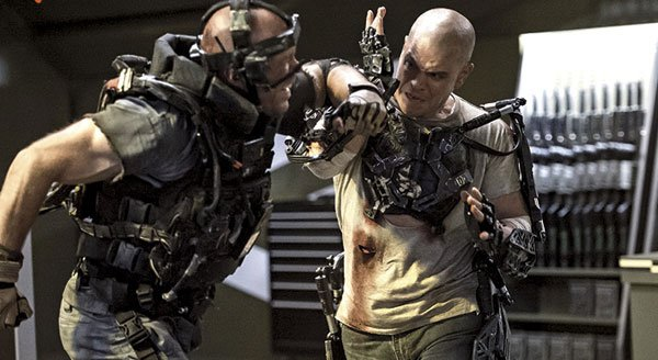 New Trailer for 'Elysium', From the Director of 'District 9