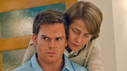 Michael C. Hall & Charlotte Rampling in Dexter 8.02 'Every Silver Lining
