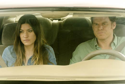 Jennifer Carpenter & Michael C. Hall in Dexter Ep 8.04 'Scar Tissue'