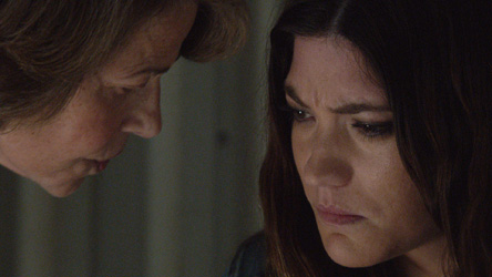 Charlotte Rampling & Jennifer Carpenter in Dexter Ep 8.04 'Scar Tissue'