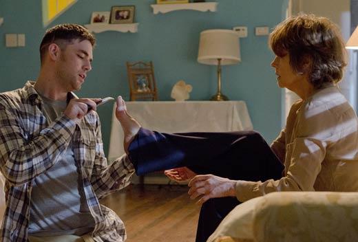 Aaron McCusker & Chartlotte Rampling in Dexter Ep 8.05 'This Little Piggy'