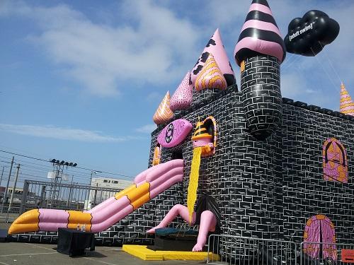 Adult Swim-themed funhouse, SDCC 2013