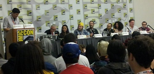 The Adventure Time Encyclopaedia panel at SDCC 2013