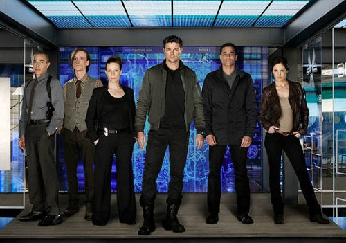 Almost Human cast photo