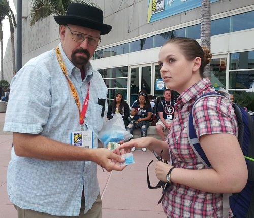 Breaking Bad cosplay, SDCC 2013