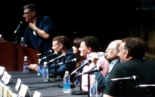 Doctor Who panel at SDCC 2013