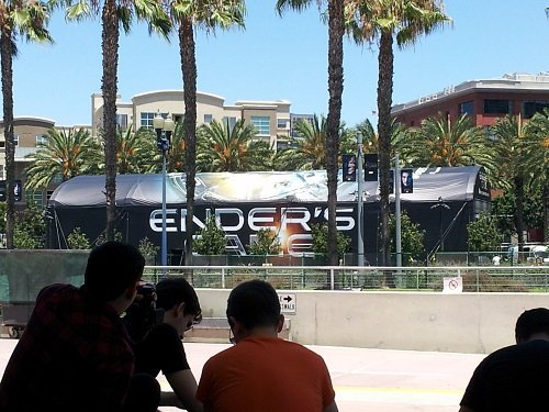 Enders Game area at SDCC 2013