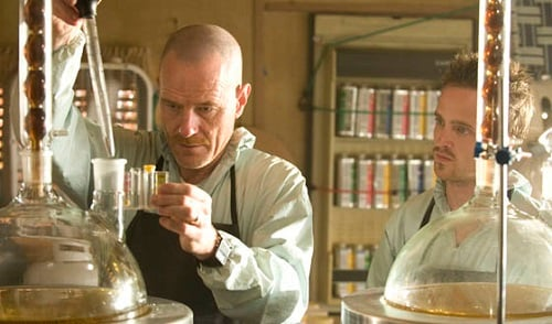 Breaking Bad screencap, chemistry