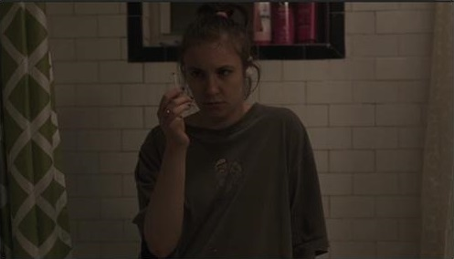 Lena Dunham as Hannah in Girls, On All Fours