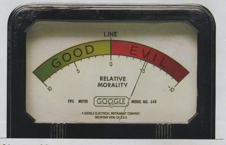 Good Evil Meter
