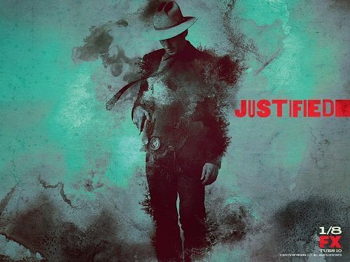 Justified season 4 promo poster