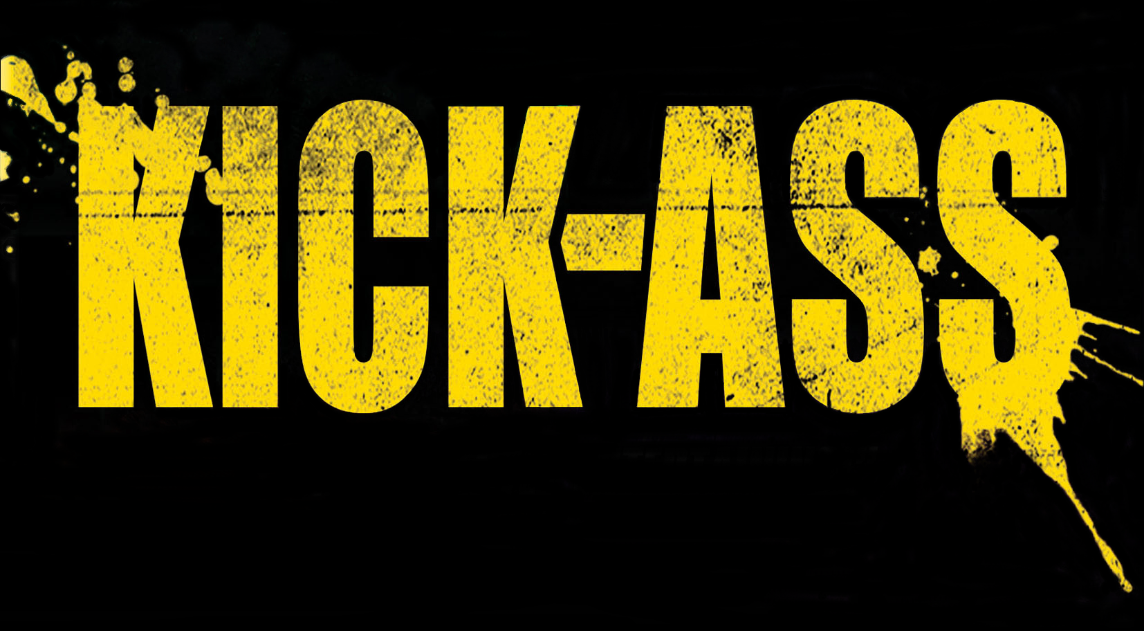 Kick ass logos naked