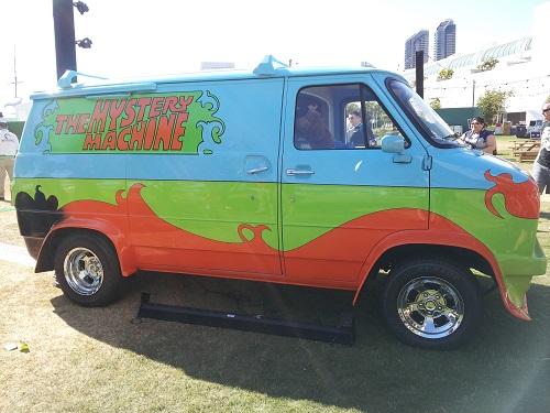 Scooby Doo Mystery Machine, SDCC 2013