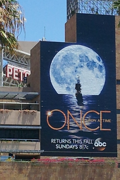 Once Upon a Time ad, SDCC 2013